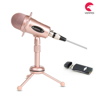 Y20B USB Professional Condenser Sound Podcast Studio Microphone for PC Laptop Computer Apple Mac Upgraded Version