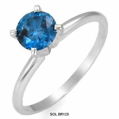 verlobungsring blauer diamant