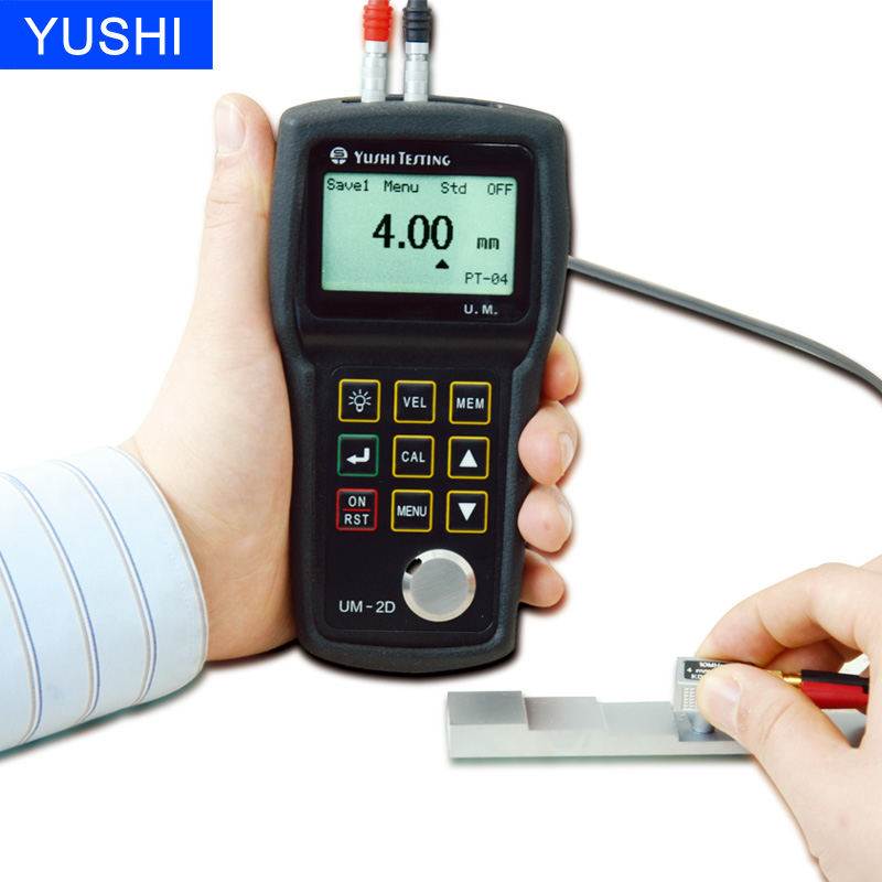 Galvanized coating thickness gauge ultrasonic thickness meter glass thickness measure