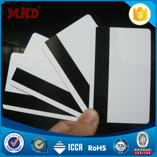 OEM orders acceptable business card with magnetic stripe