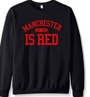 best109 The United Kingdom Manchester Is Red letters print fashion men hoodies 2016 autumn winter new sweatshirts fleece hip hop