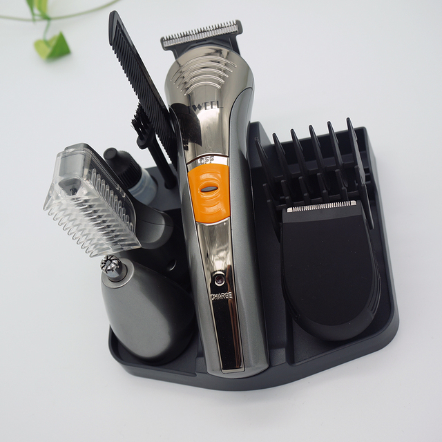 China Supplier High End Mens Trimmer Set Facial Shaver Nose Hair Beard Grooming Kits