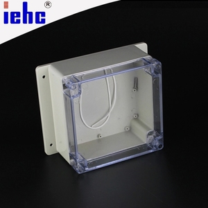 Y2 series 160*160*90mm ABS PV clear cover plastic underground waterproof electrical junction box