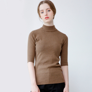 high quality sweaters with bottom mature women tight knitwear