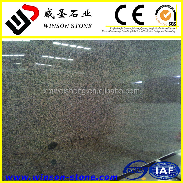 Most Popular High Quality Cheap Chinese Tropic Brown granite for countertop & vanitytop
