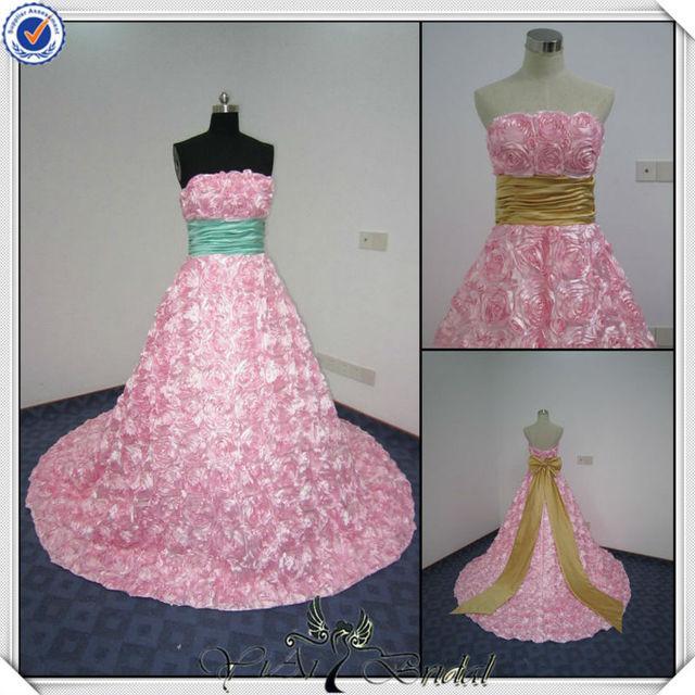 Promoción caliente rosa vestido de novia, Compras online de caliente ...