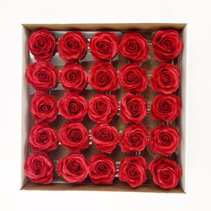 Romantic Valentine's Day Gift Wedding Flowers High Grade 25PCS Box-packed Soap Flower 8cm Artificial Roses