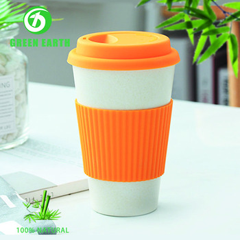 Insulated Eco Friendly Er Bulk Plastic Coffee Mugs Cups With Lids In Bamboo Fiber