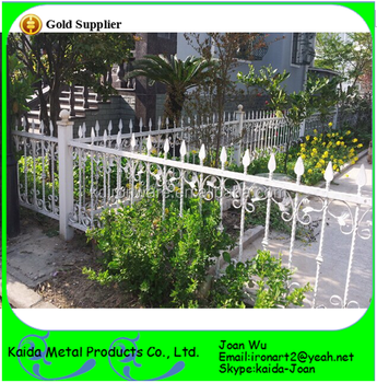 Excellent fancy wrought iron white fence design for your yardgarden excellent fancy wrought iron white fence design for your yardgardenpark workwithnaturefo