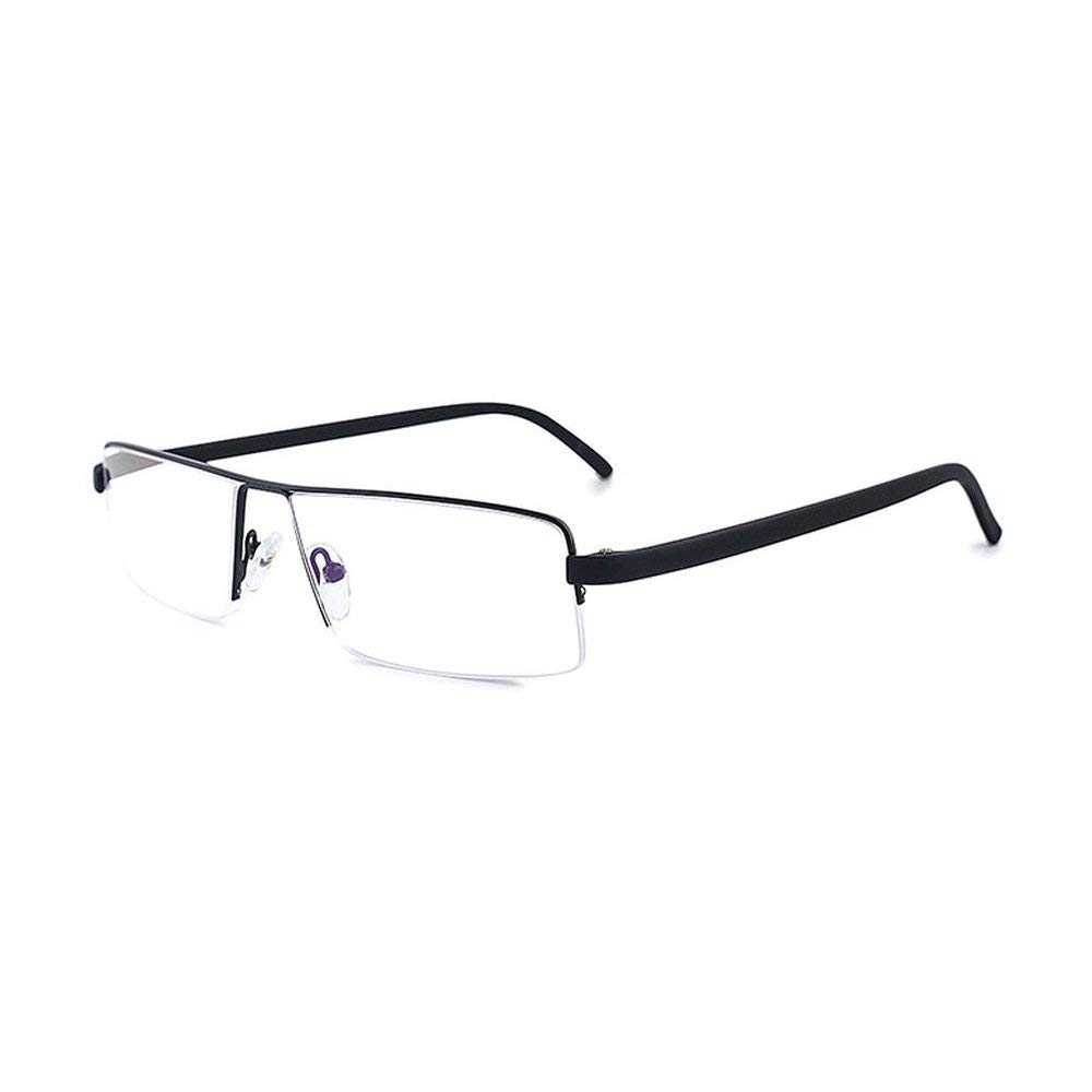721994e1eda Get Quotations · Fashion Classic Rectangular Half Frame Men Reading Glasses  (+2.5)