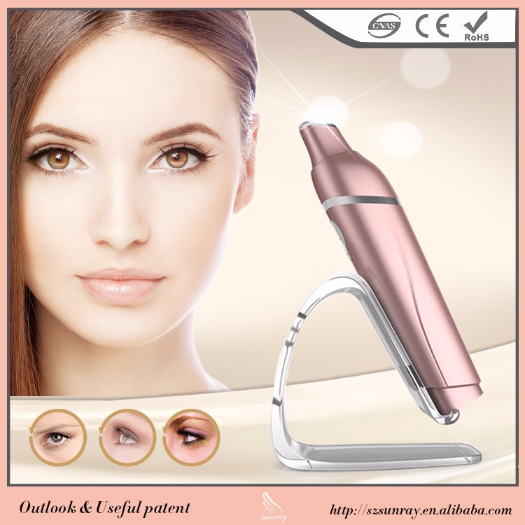 Inexpensive New Arrival Vibration Eye Massager Mini Portable Facial Equipment Remove Dark Circles Under Eyes