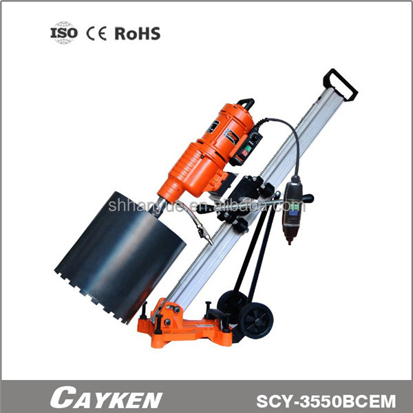 vertical-type concrete engineering drill concreate core cutting tools SCY-3550BCM