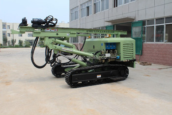 Longye diesel power down-hole hammer hydraulic rotary rock drill G150YF