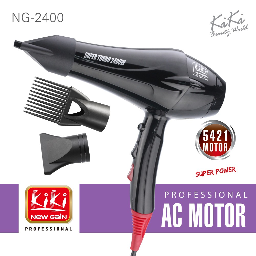 2400W AC motor hair dryer professional. Professional hair dryer