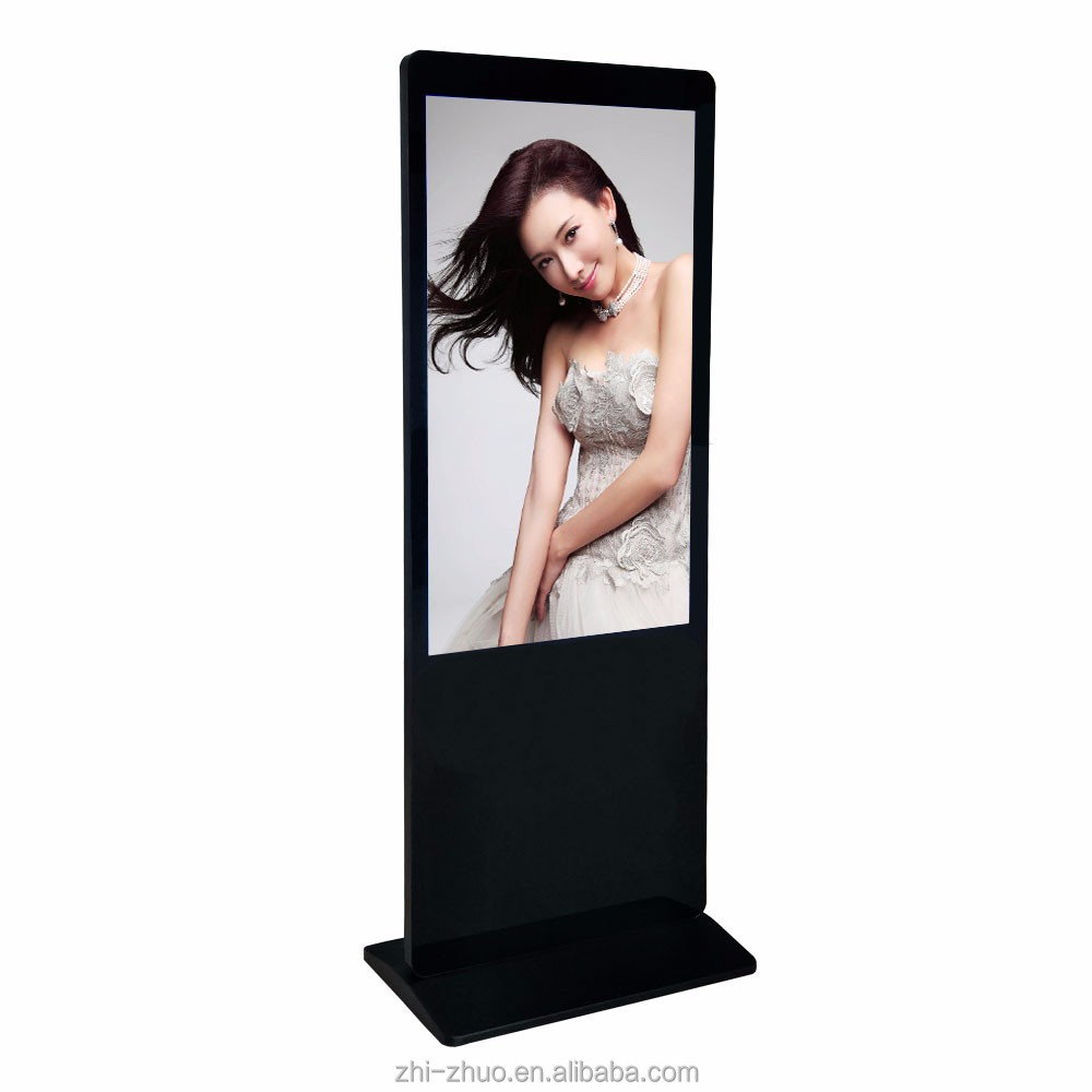 "32""42""46""55""Inch Floor Standing Wireless Wifi digital signage display <strong>screen</strong>"