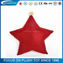 five-pointed star shape elephant plush pillow neck pillow memory foam christmas pillow