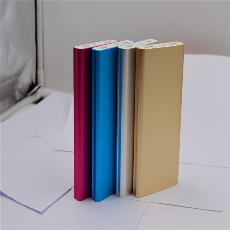 2017 Hot Selling slim Power Bank 10000mah,Power bank Charger with big capacity
