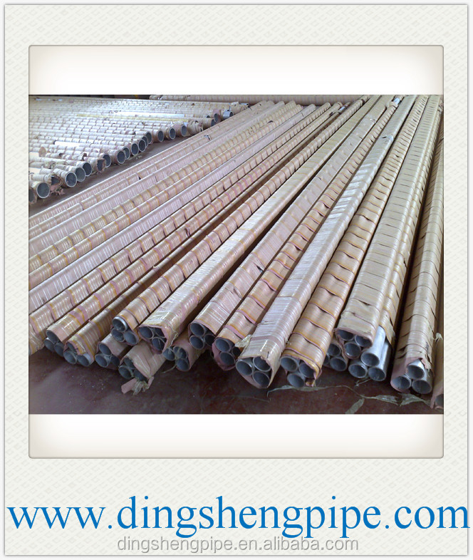 hot sale std wall thickness seamless aluminium pipes/tubes for shipbuilding