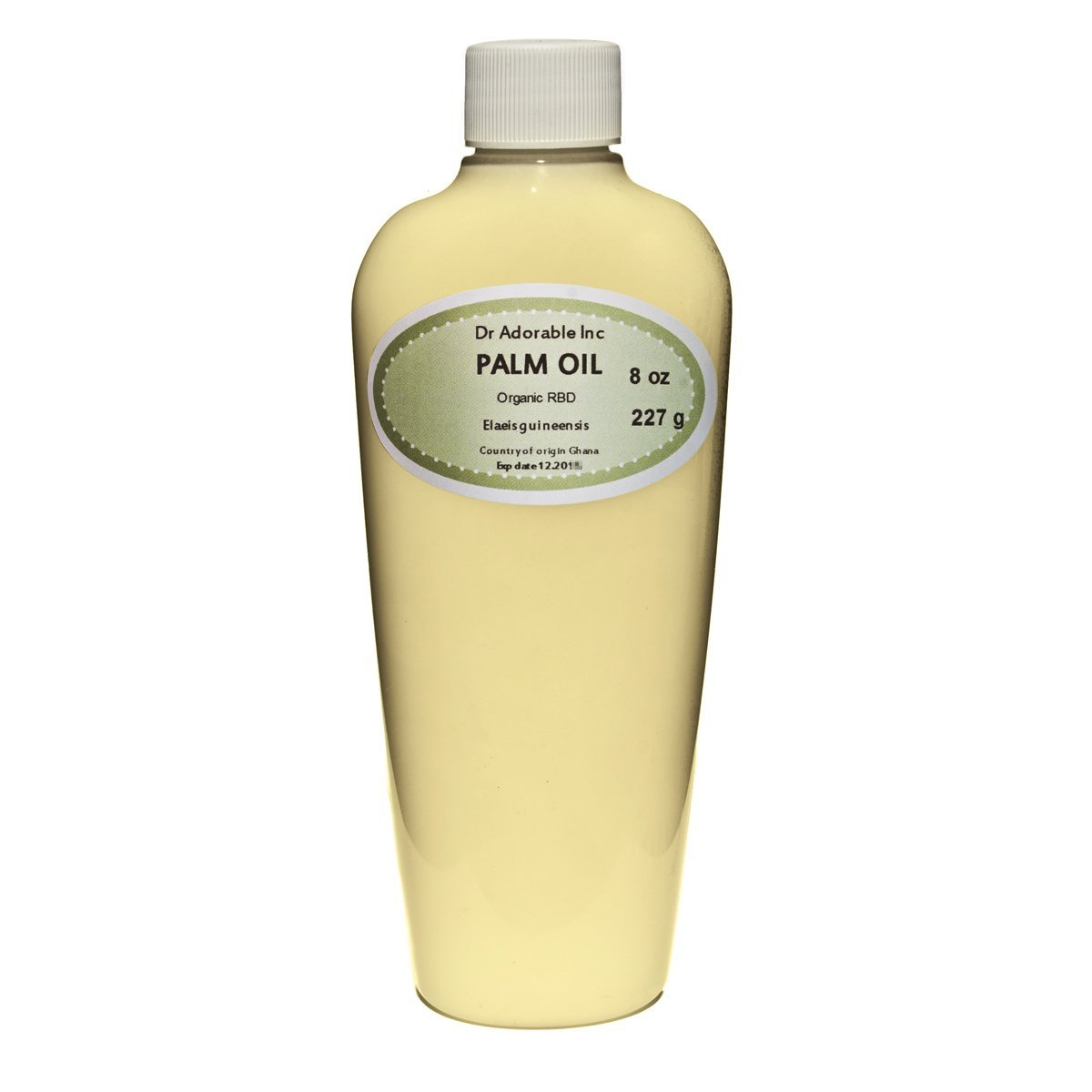 Palm Oil Pure Cold Pressed Organic 8 Oz