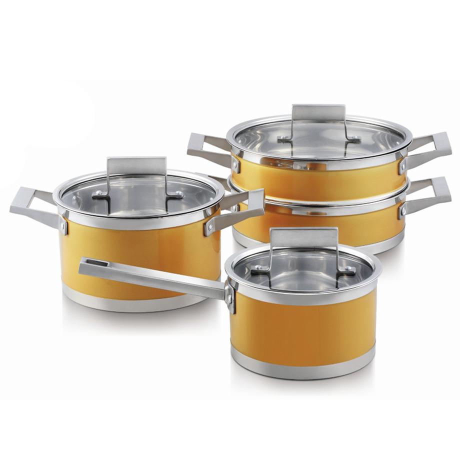 Stainless Steel Indian Pot Pan Set, Stainless Steel Indian Pot Pan ...