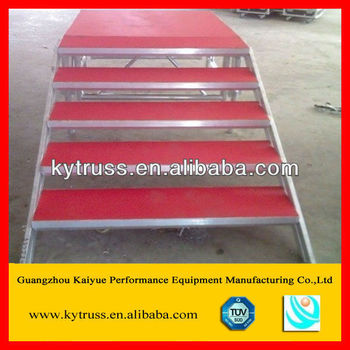Kaiyue Cheap Movable Folding Portable Wooden Folding Stage Stairs Buy Stage Stairsstage Stairsstage Stairs Product On Alibabacom