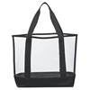 Clear Casual Stadium Carry pvc cosmetic tote shopping bag