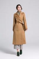 Inner Mongolia Ordos Women's 100% Cashmere overcoat, Ulster collar coat