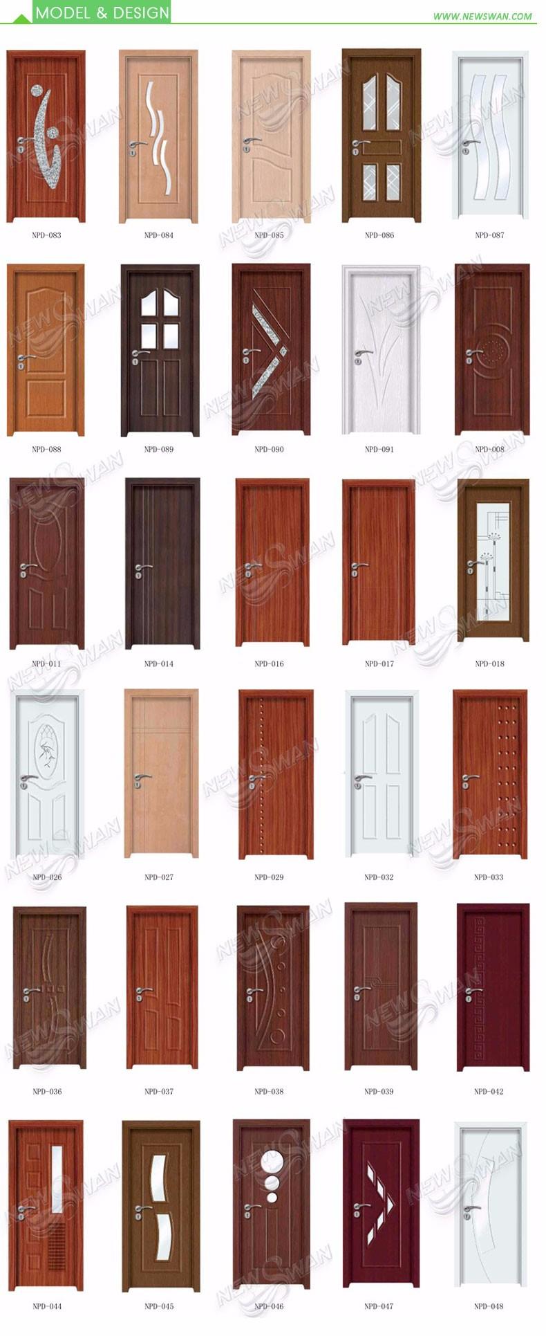 Modern Pvc Door Wooden Pvc Doors Design Pvc Bathroom