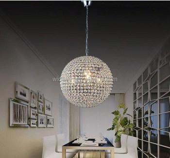 Globe Shape Vintage Crystal Chandeliers Decoration Ceiling Light ...