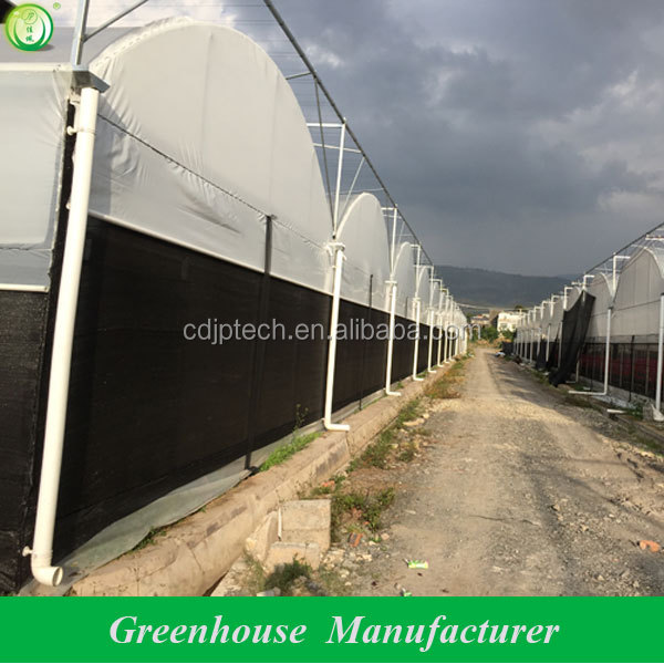 film inflatable light deprivation greenhouse block out light