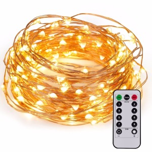 China Factory remote control 100 led large outdoor christmas tree lights