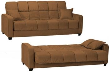Affordable Cabo Modern Convertible Futon Sofa Bed Sleeper