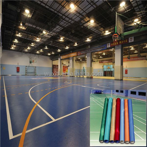 Customized Antislip Colorful portable volleyball flooring with CE / ISO9001/ISO14001