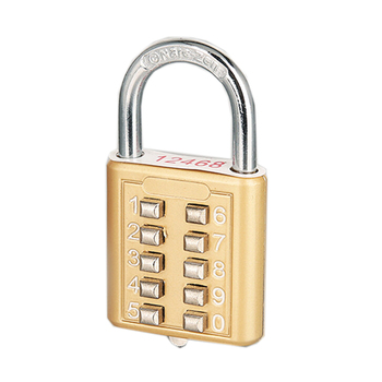 Digit Combination Lock For The Blind Man Special Zinc