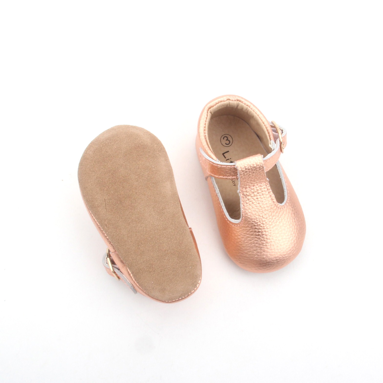 Bsci Factory 10 Years Baby Shoes Manufacturer Baby Mary Jane Soft
