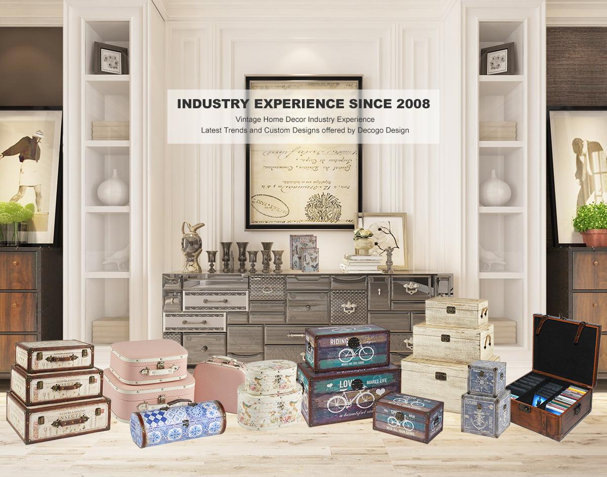 Kingdeful Xiamen Industry Co Ltd Vintage Home Decor Decorative Box