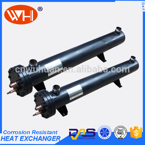 New design stainless steel shell and tube heat exchanger pool