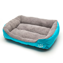 Soft Quilted Cushion Mat - Rectangular Fits Crate Cotton Dog Bed