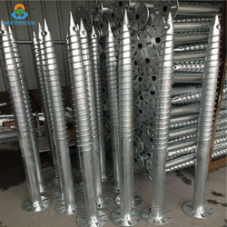 Hot Dipped Galvanized Stainless Steel Ground Screw