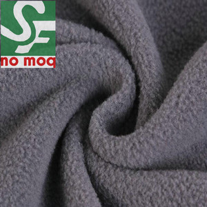 High Pile Fleece Fabric Yard Fleece Lining Fabric with Different Types