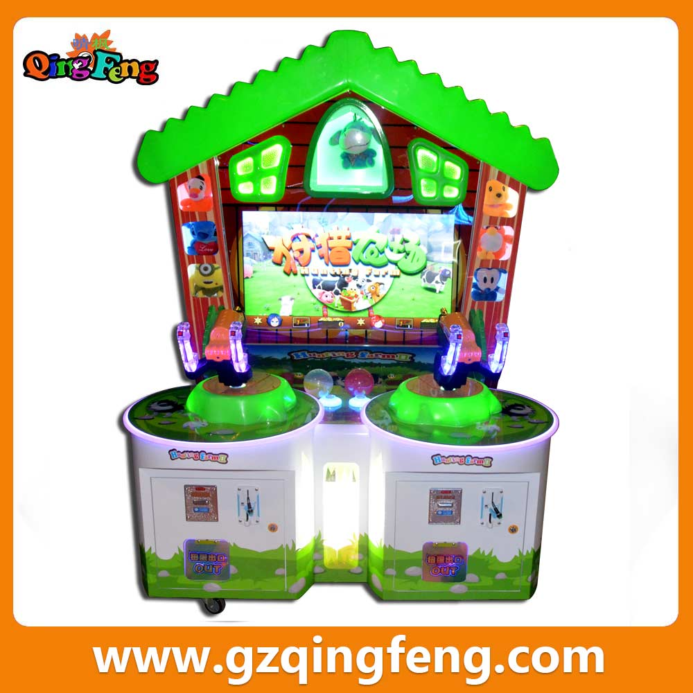 hunting farm shooting fighting arcade for game center in Pakistan game machine