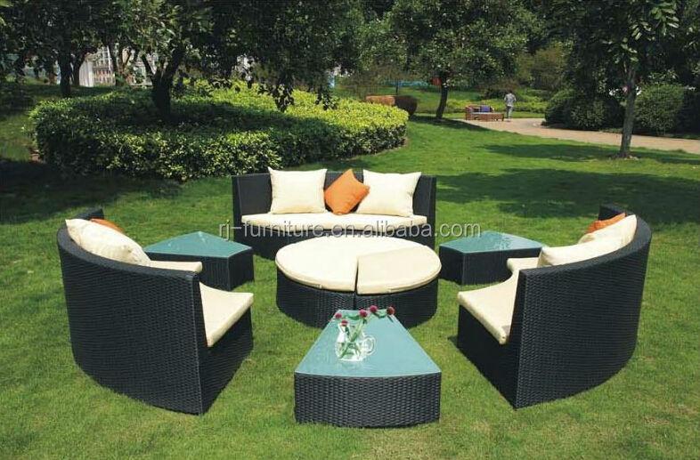 loveseat bank  binnenplaats met tuin bankstel  ronde salontafel tuin sets product ID 60006514231