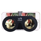 Promotional Gift Mini Plastic 3d Virtual Reality Glasses VR For Mobile Phone