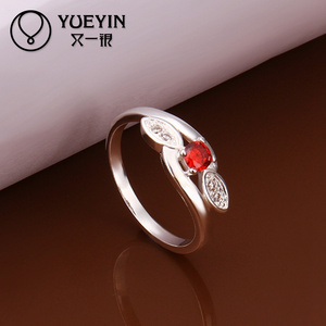 Unique red stone 925 sterling silver jewellery online