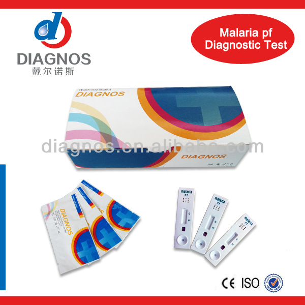 High Quality infectious disease/medical dignose malaria rapid test(CE&ISO)