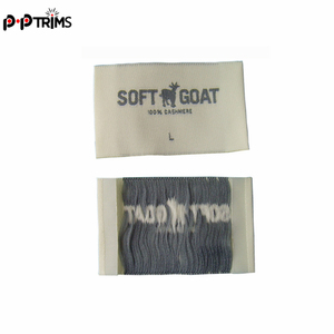 polyester fabric labels custom woven labels for garments