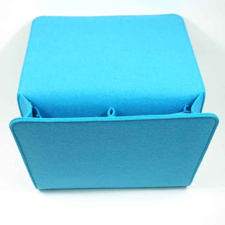 Utility cheap storage bags promotional handmade felt bedside caddy