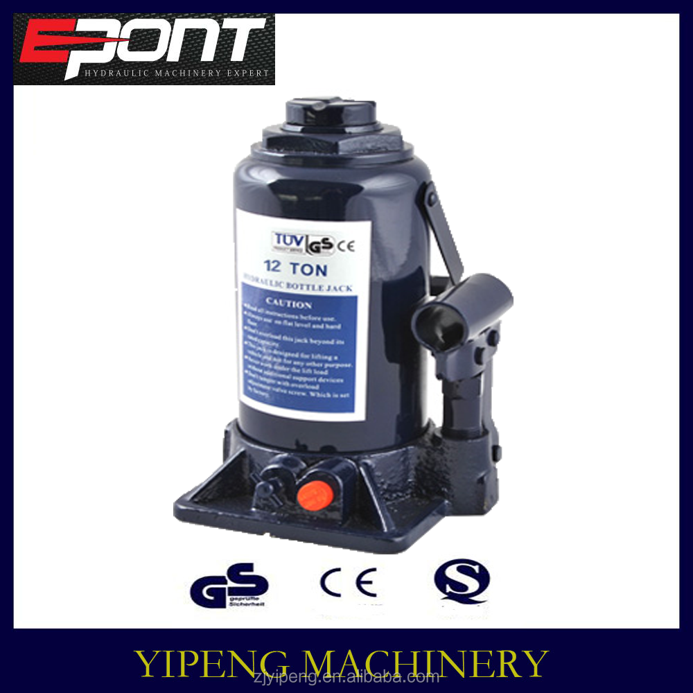 Wholesale competitive price 12 ton bottle jack for car lifting