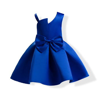 Wholesale Kids Wedding Dresses Bow Red Blue Prom Ball Gown Princess Dress  For Girls , Buy Blue Prom Ball Gown,Gowns For Girls,Ball Gown Prom Dresses