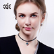CDE 2017 Fashion Custom Jewelry China Lady 925 Silver Choker